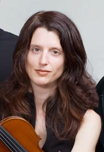 Julie-Anne Derome Canadian violinist