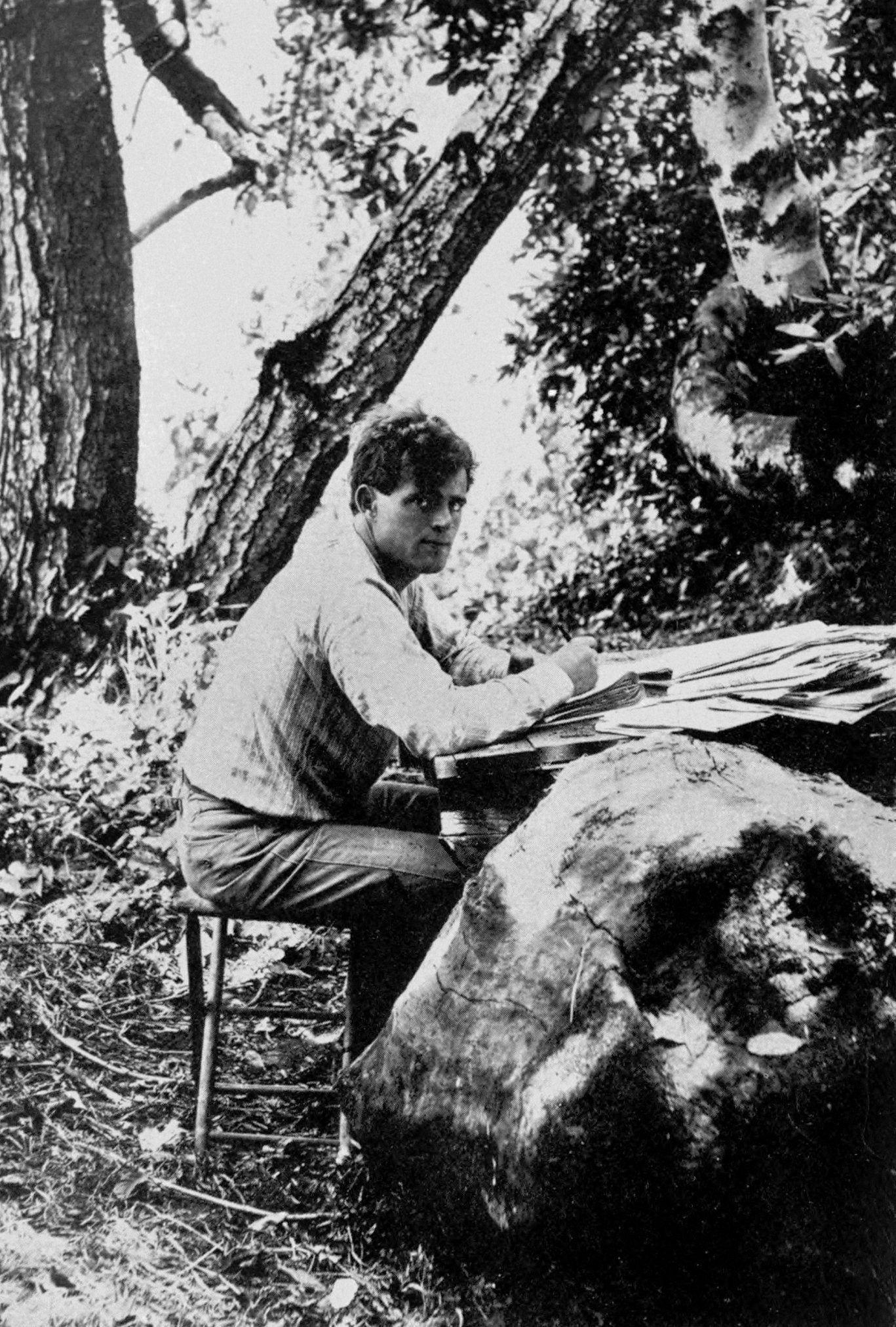 the writing styles of jack london Jack london's naturalistic style sprang from a difficult and would be crucial to some of his most successful writing returning to oakland, jack's big break.