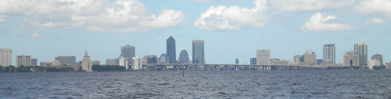Panorama of Jacksonville, Florida