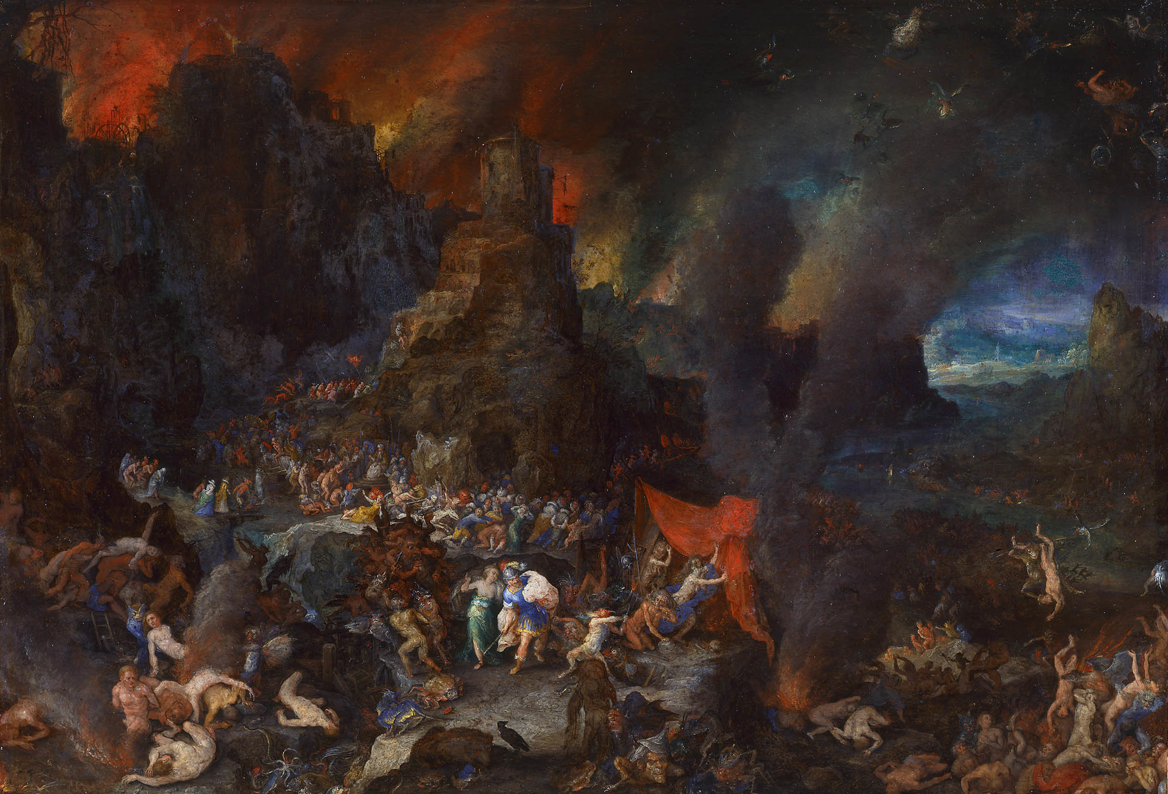 File:Jan Brueghel the Elder - Aeneas and the Sibyl in the Underworld.jpg