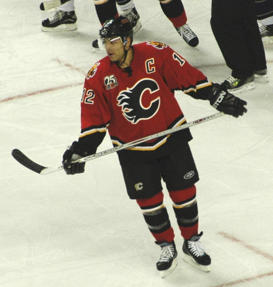 The performance of Jarome Iginla was one of the team s few bright spots  during its seven-year playoff drought. f012a94ae
