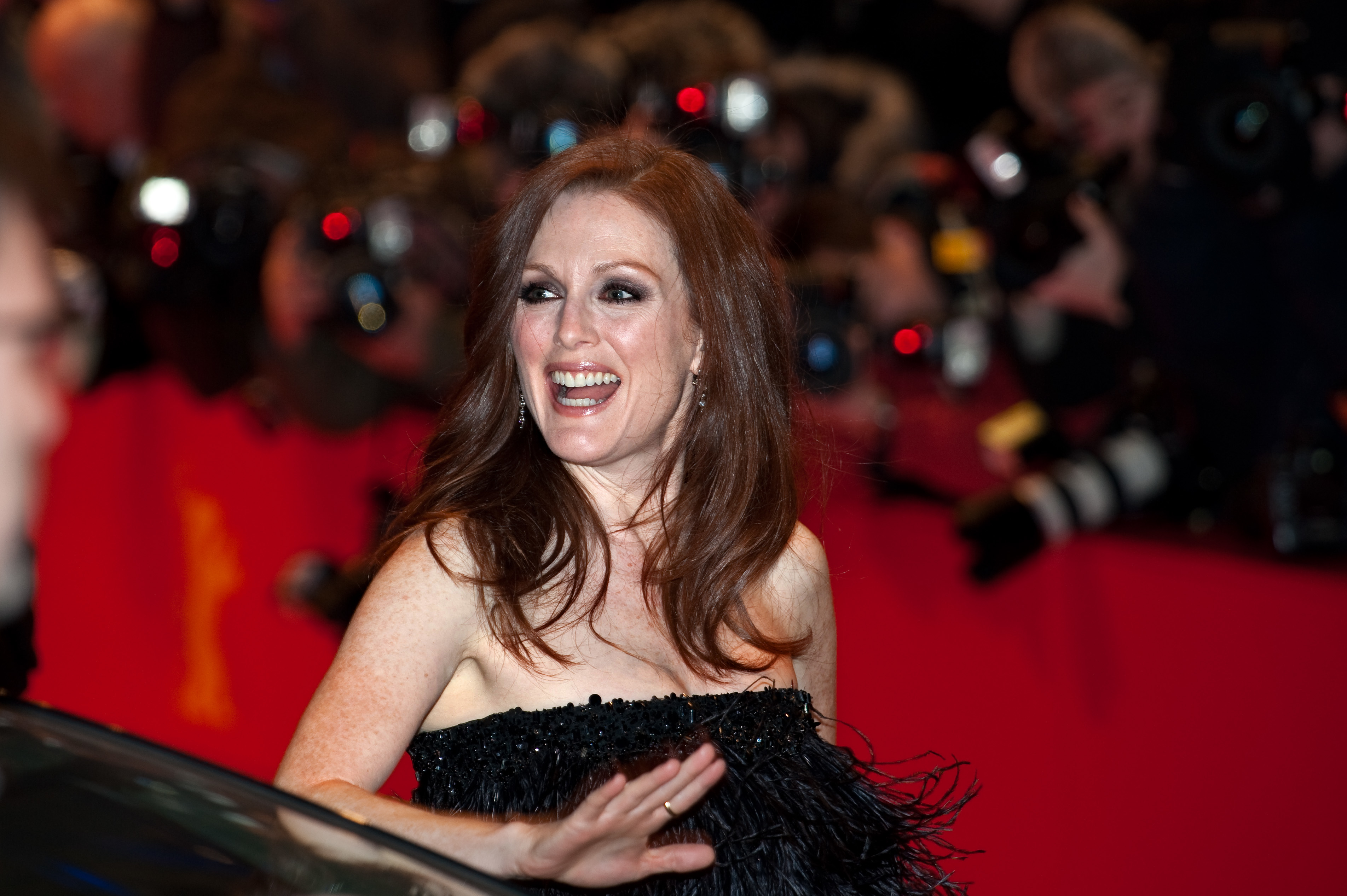Julianne Moore at the premiere of the movie TH...