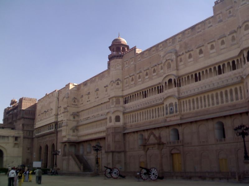Junagarh Fort, Bikaner, Rajasthan, India