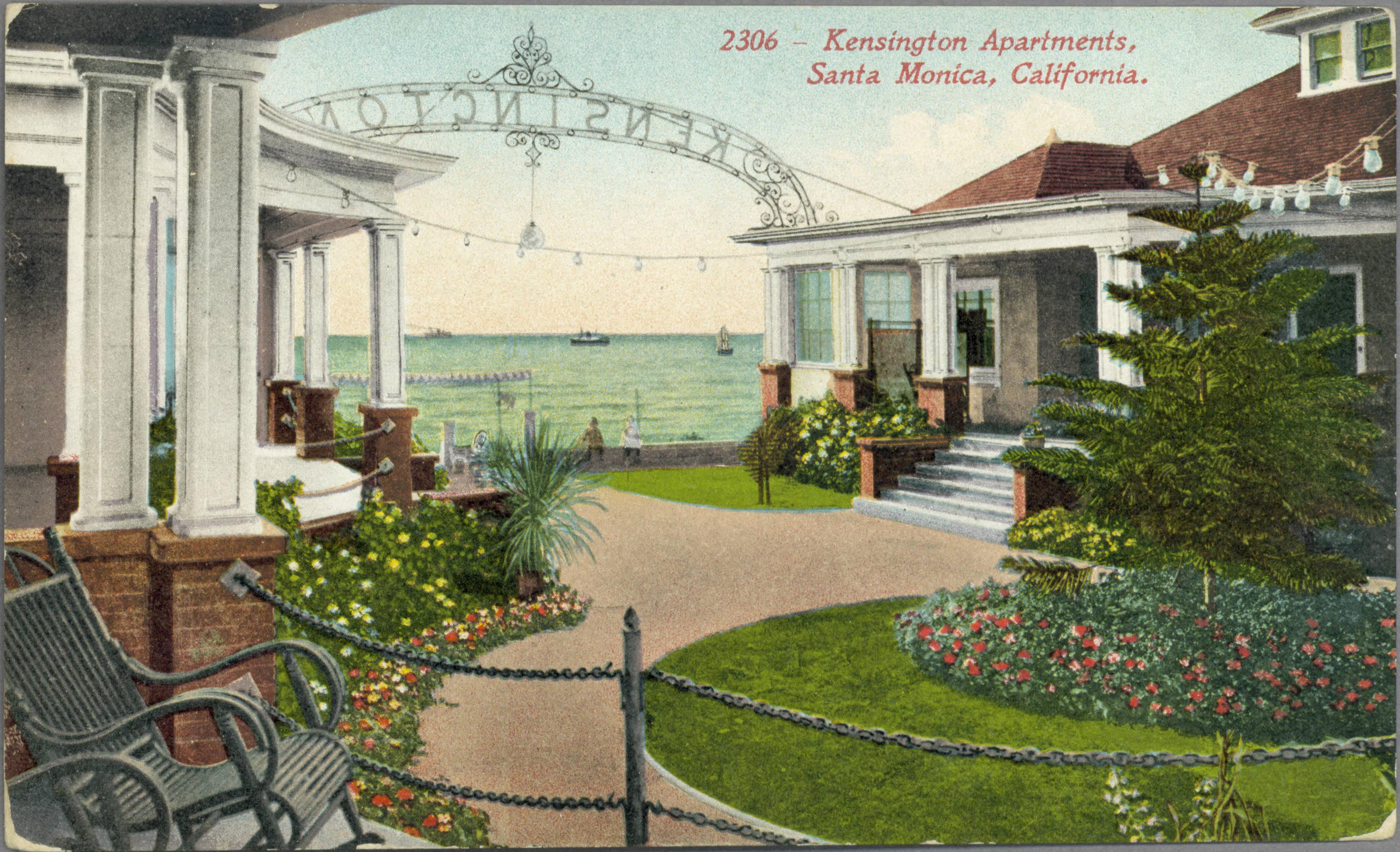 File Kensington Apartments Santa Monica California
