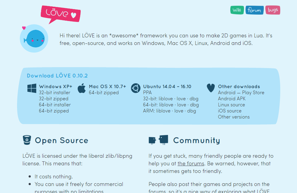 File:Löve2D website png - Wikimedia Commons