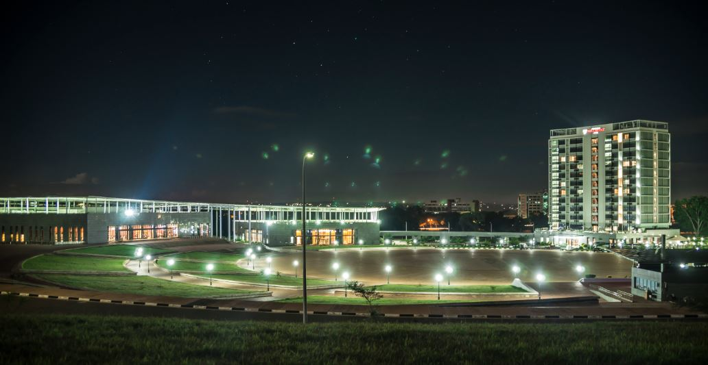 LILONGWE CITY AT NIGHT