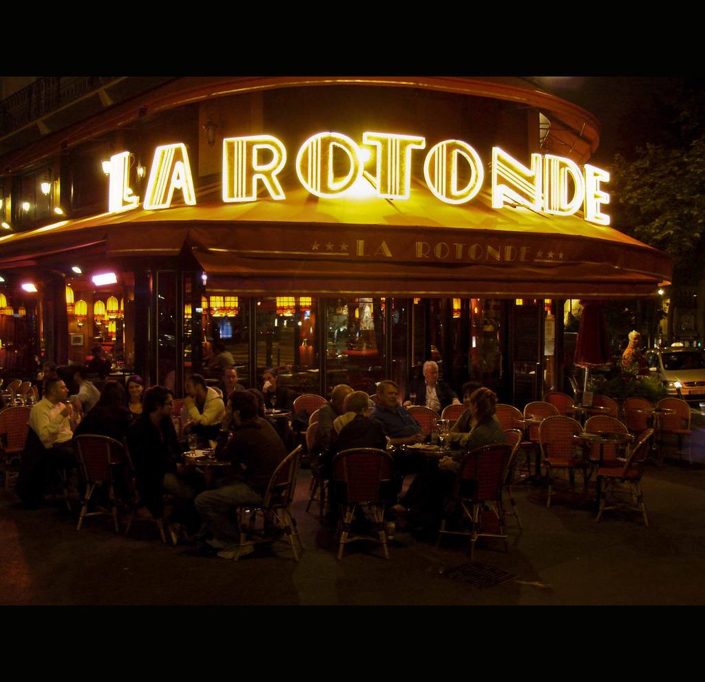 La Rotonde Restaurant Paris