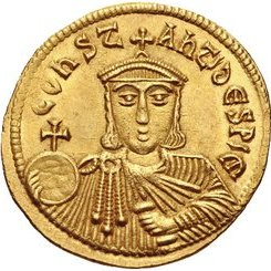 Leo V solidus (reverse)