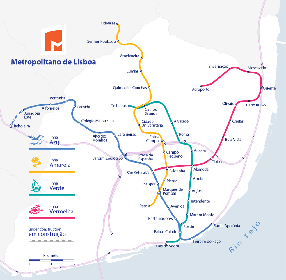 Lisboa rail&underground routes map 2012.png