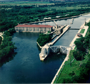 Photo of Lockport Lock, Lockport, Illinois