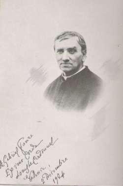 Louis Le Cardonnel portrait et autographe