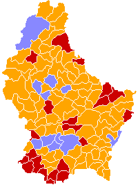 Luxembourg legislative election 1994 communes map.png
