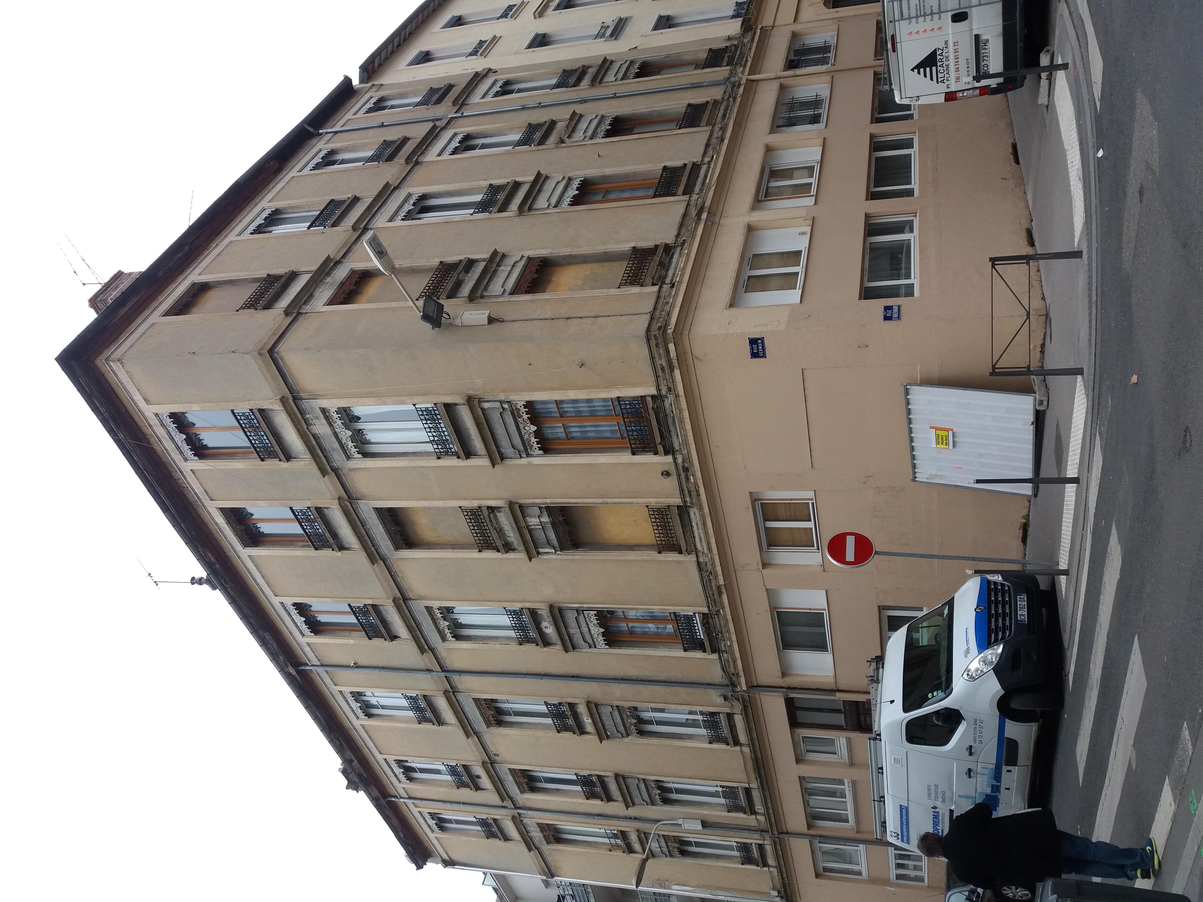 Entreprise D Architecture Lyon file:lyon 6e - rue germain, immeuble à l'angle de la rue d