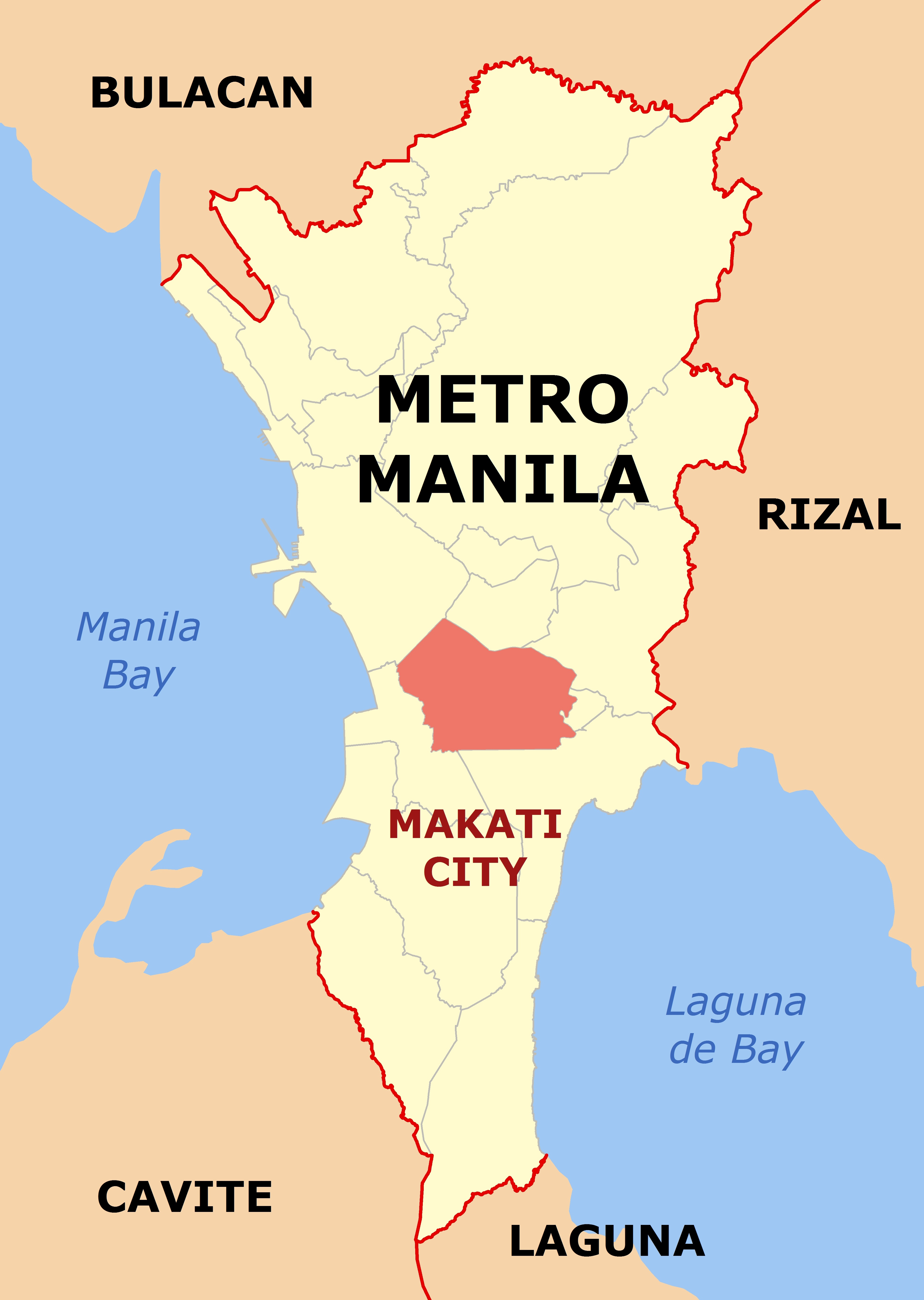 FileMakati NCR location Mapjpg Wikimedia Commons