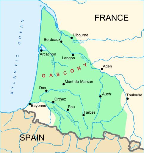 Map Of France Gascony.Gascony Wikipedia