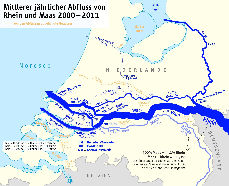 rhein holland karte Waal (Fluss) – Wikipedia