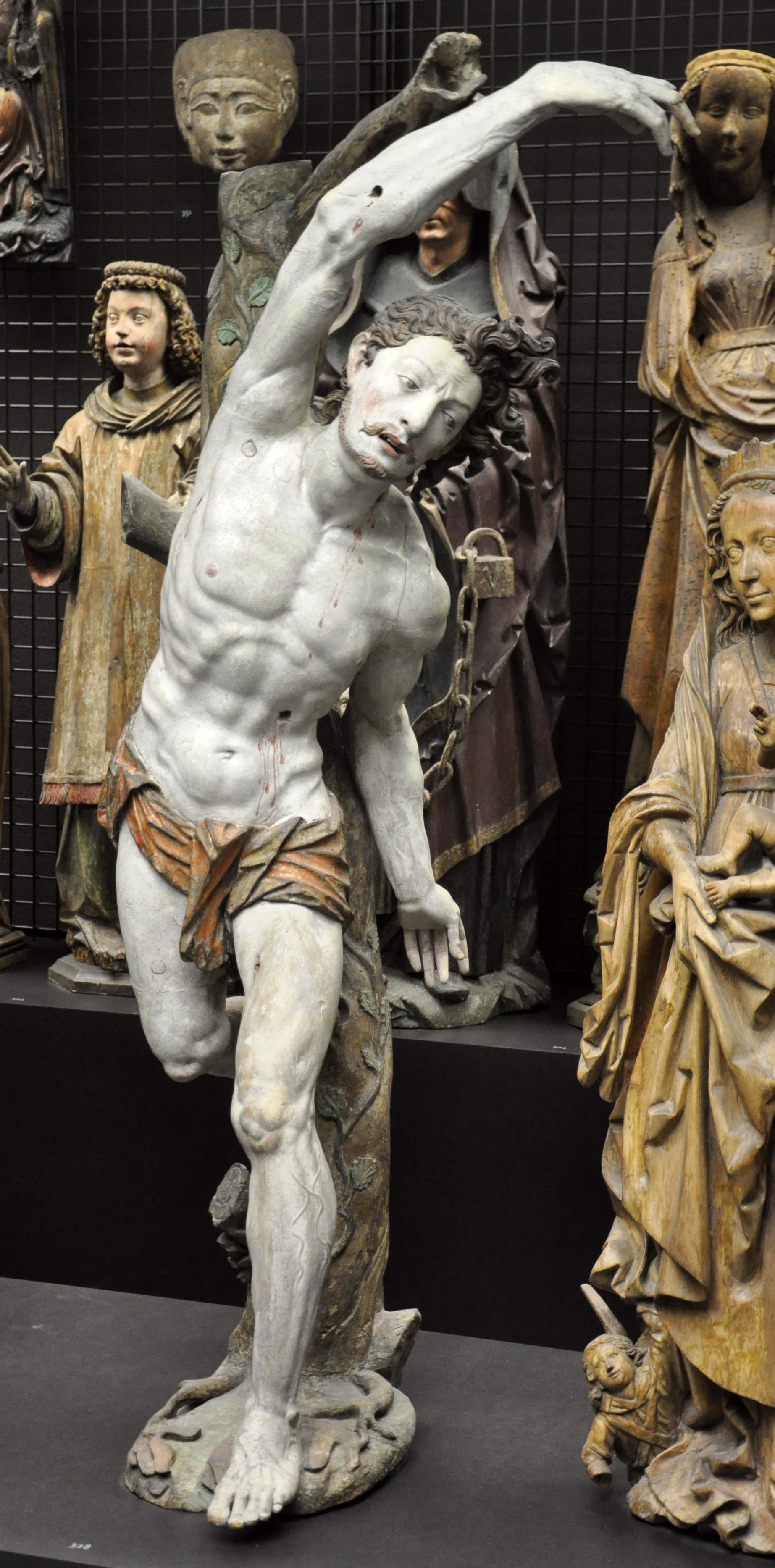 Filemartin Und Michael Zürn Heiliger Sebastian Liebieghaus 1027jpg