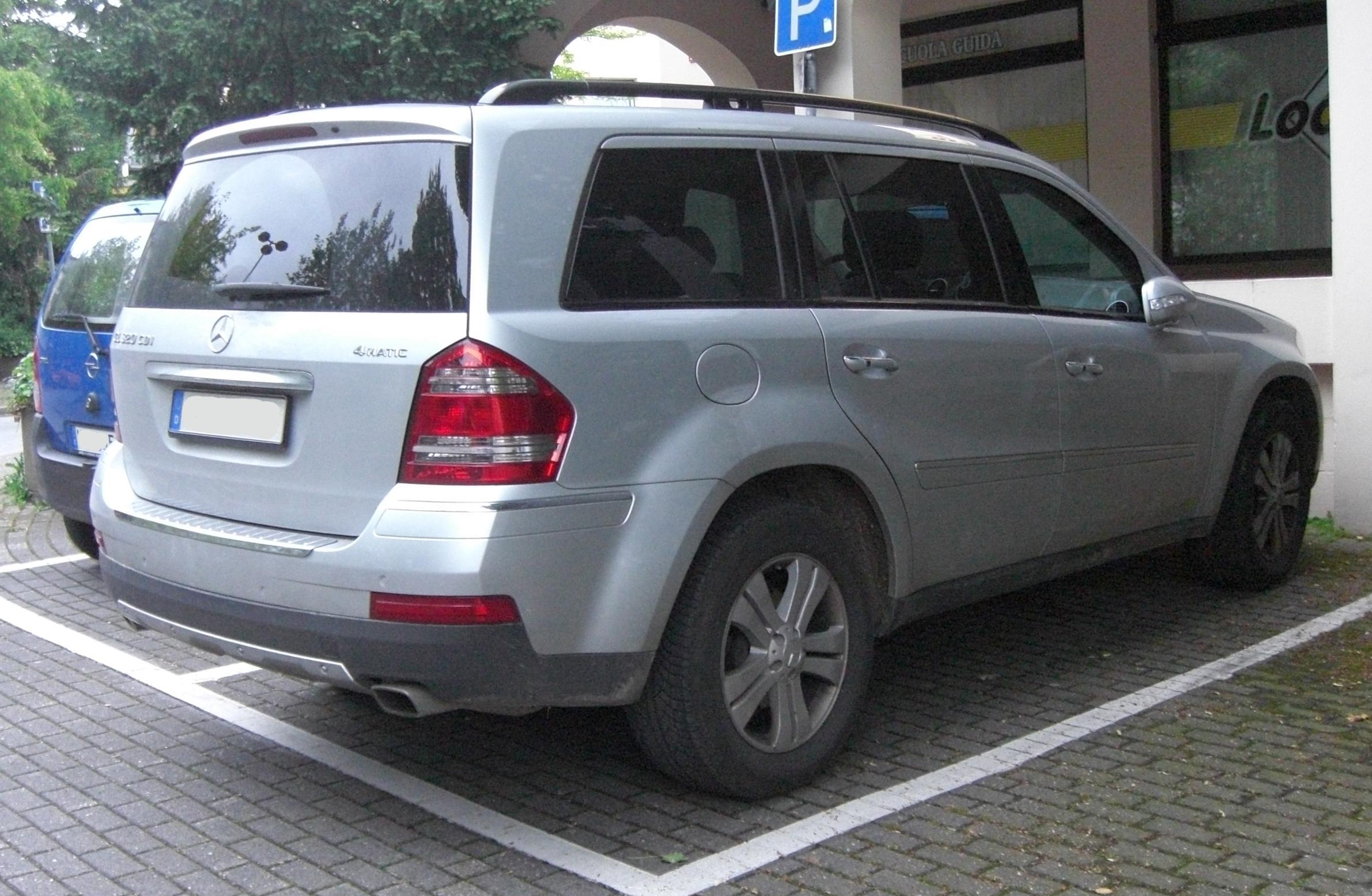 Mercedes Gl Rear Camber