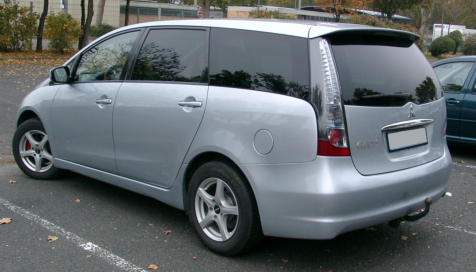 Mitsubishi Grandis Wow Mitsubishi Cars