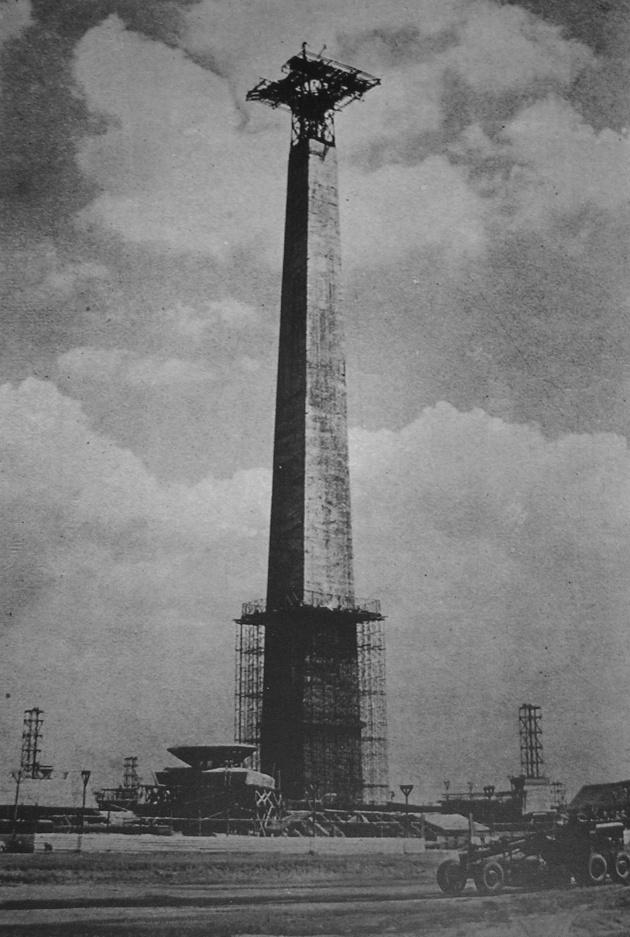 Konstruksi awal Monas | wikimedia.org