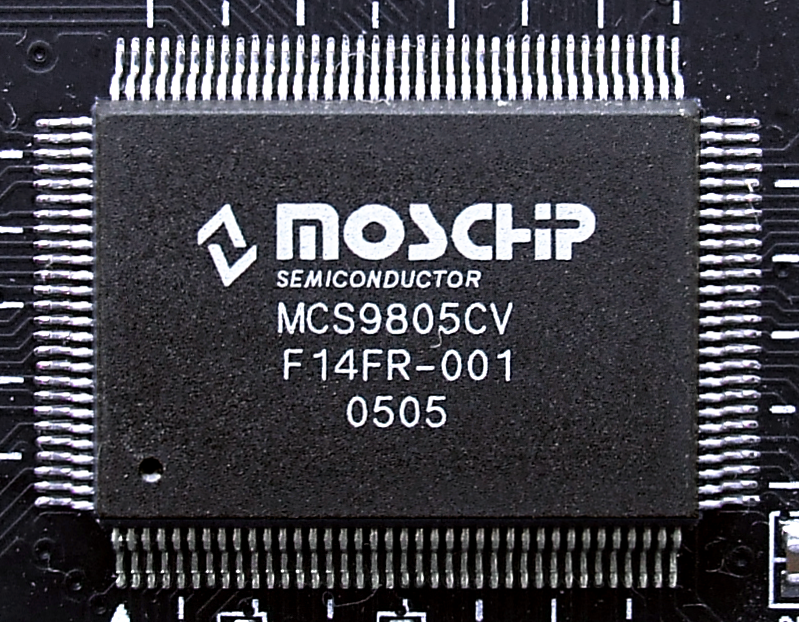 MOSCHIP SEMICONDUCTOR MCS9805CV DRIVERS DOWNLOAD