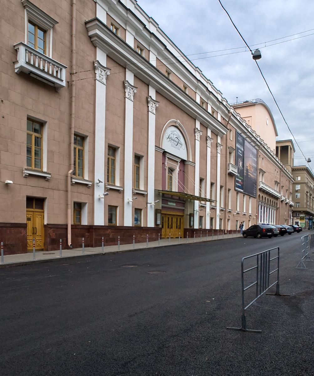 Théâtre fondé par Stanislavski à Moscou – NVO \[CC BY-SA 3.0\]