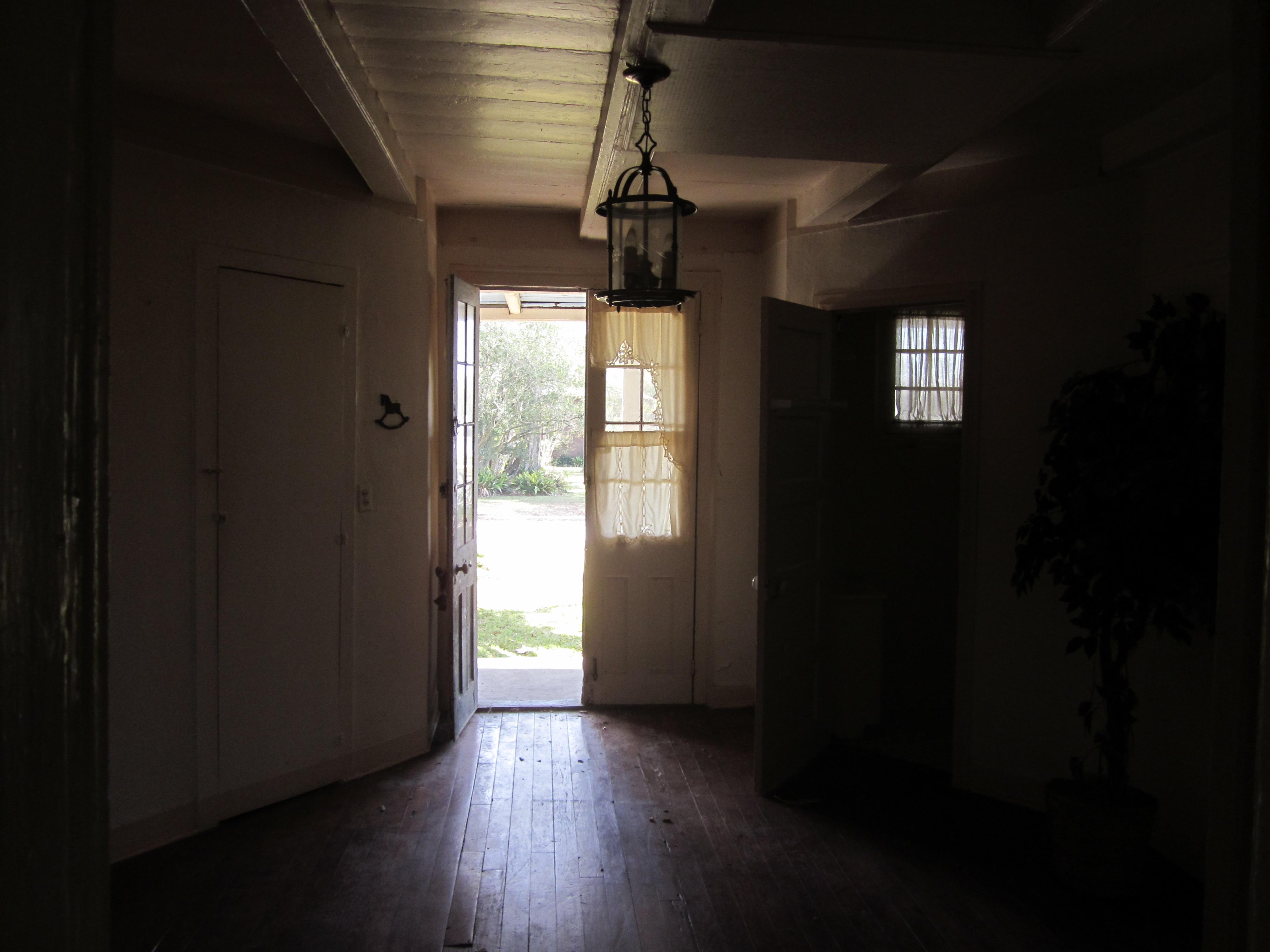 Open Front Door From Inside