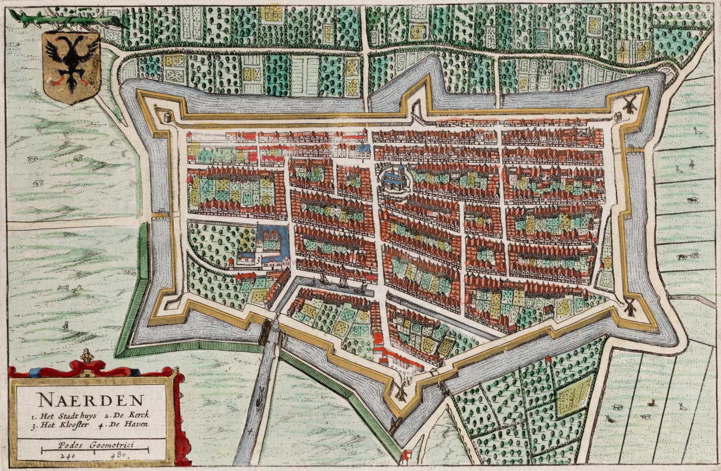 map of Naarden