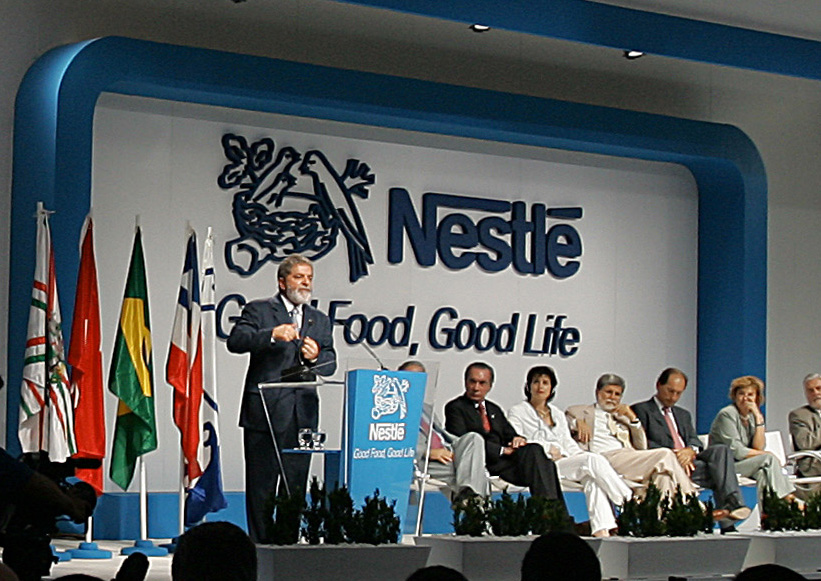 the issues of the nestle company and their average business goals