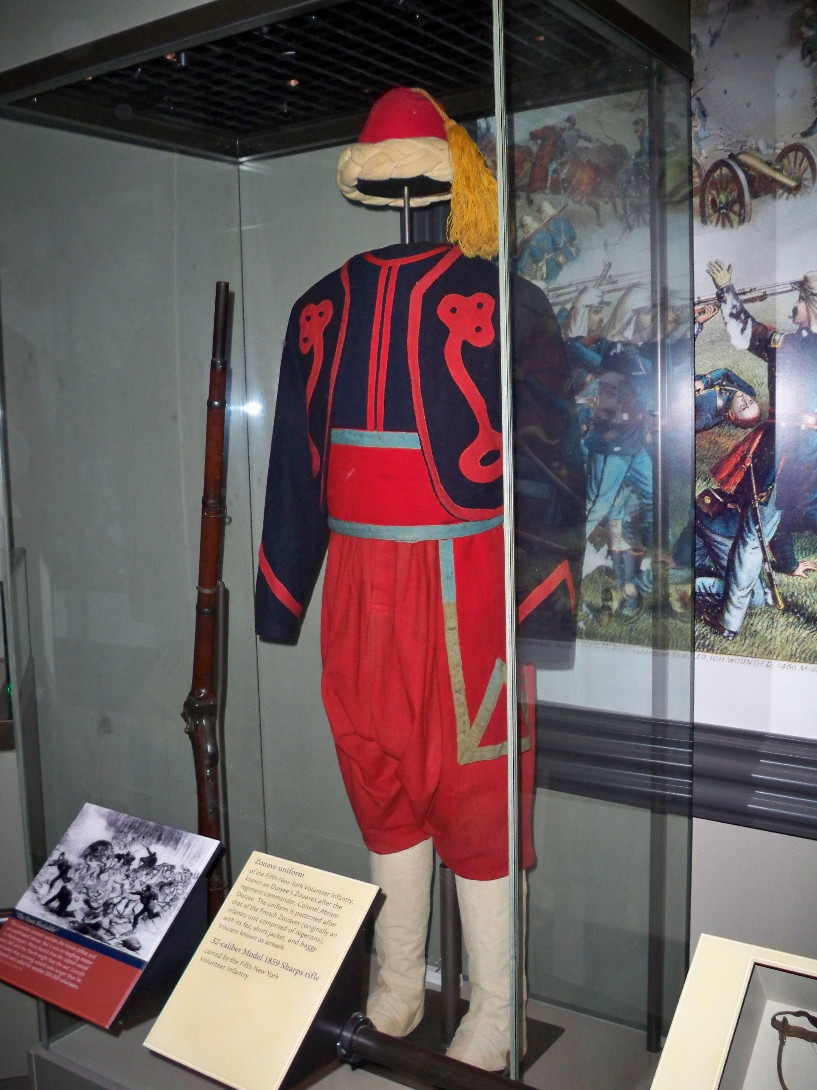 New York uniform of the Civil War