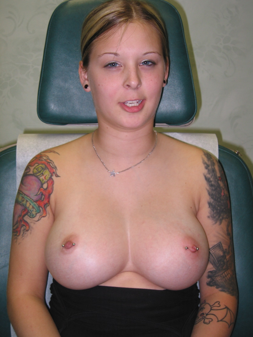 Description Nipple Piercings And Tattoos