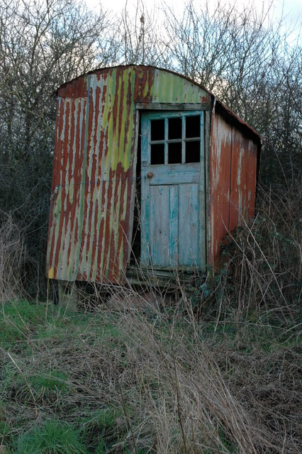 File Old Shed On Day House Road Hillesley Geograph Org
