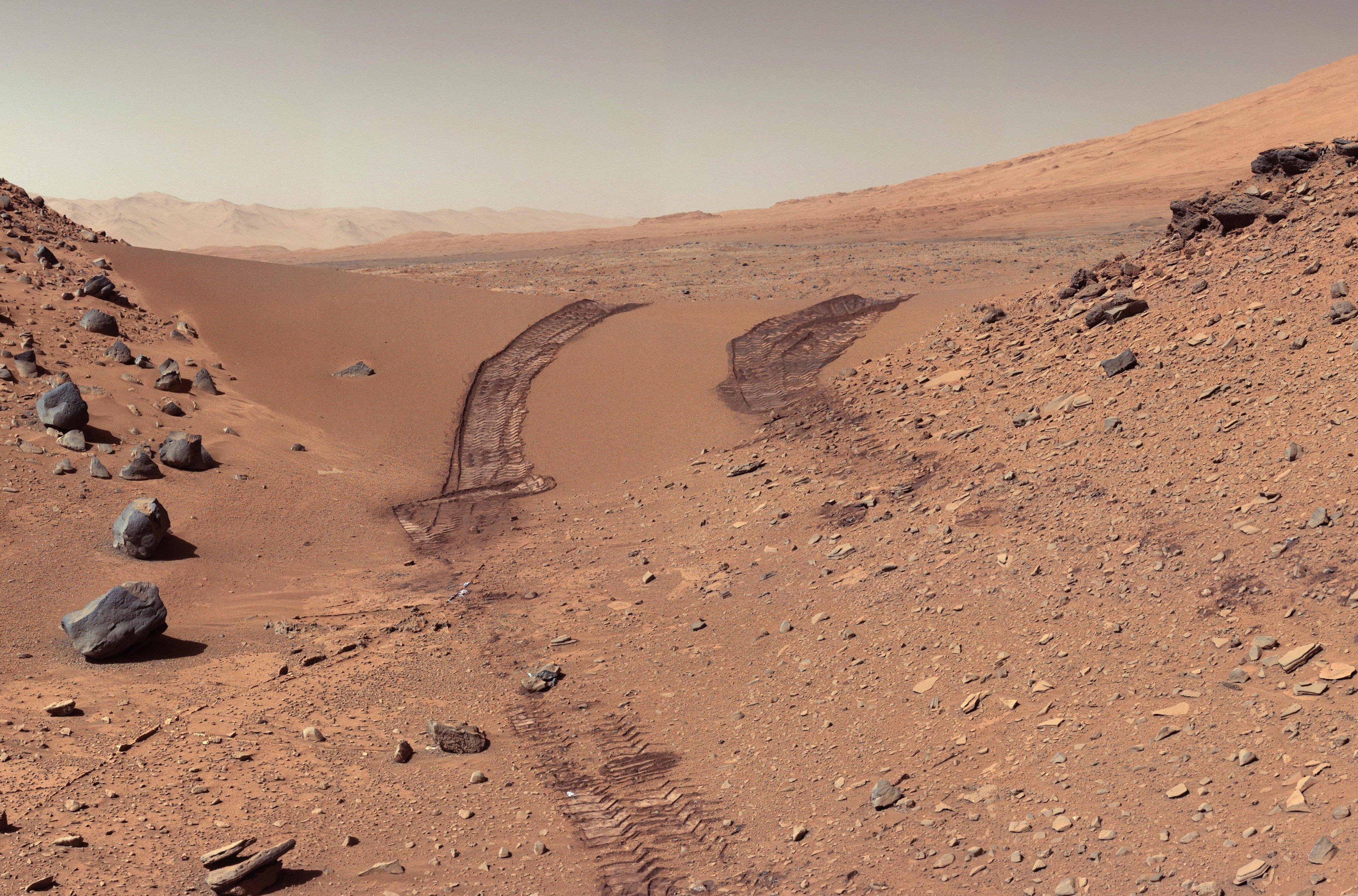 Martian soil - Wikipedia
