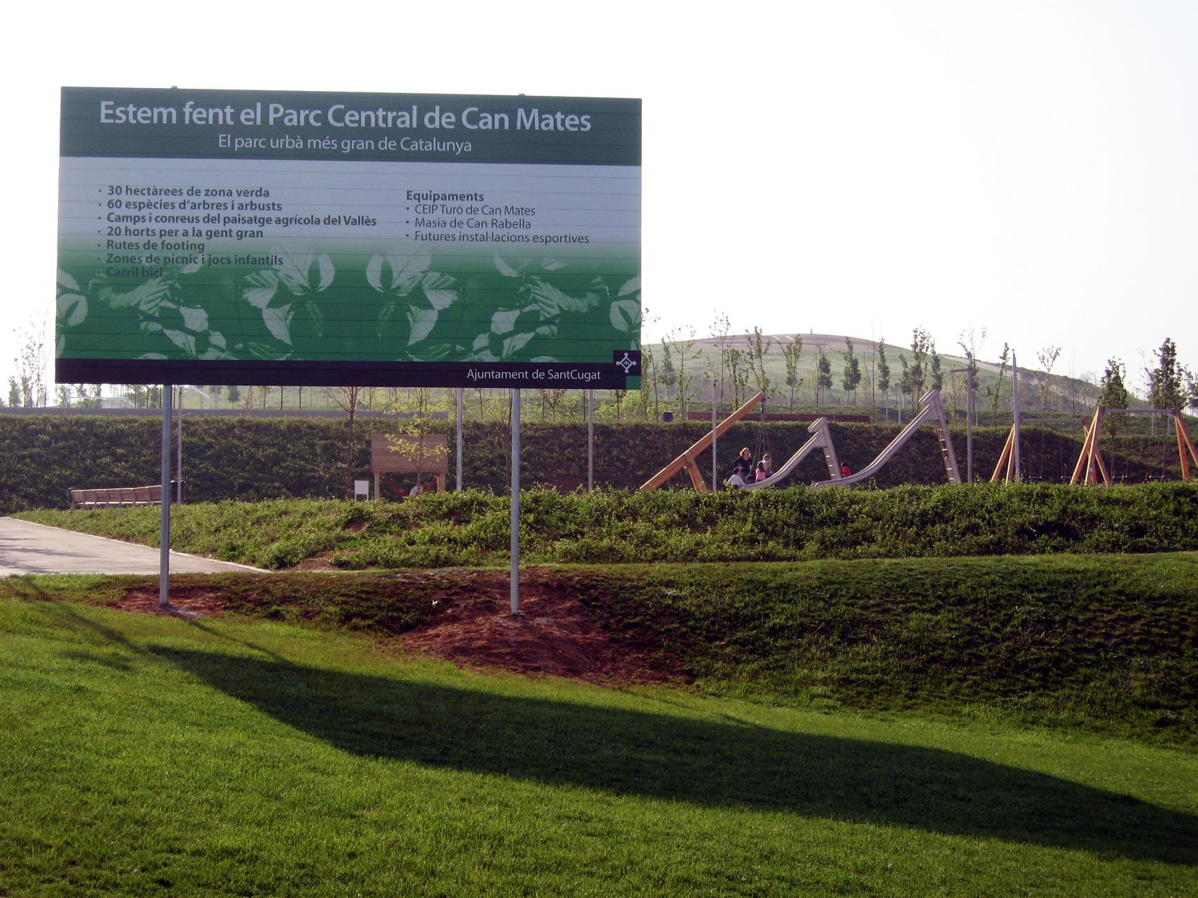 File parc central de can mates sant cugat del vall - Cugat del valles ...