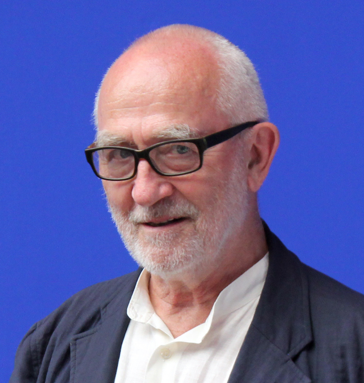 Peter Zumthor at the [[Venice Biennale of Architecture|16th Venice Biennale of Architecture]] in May 2018