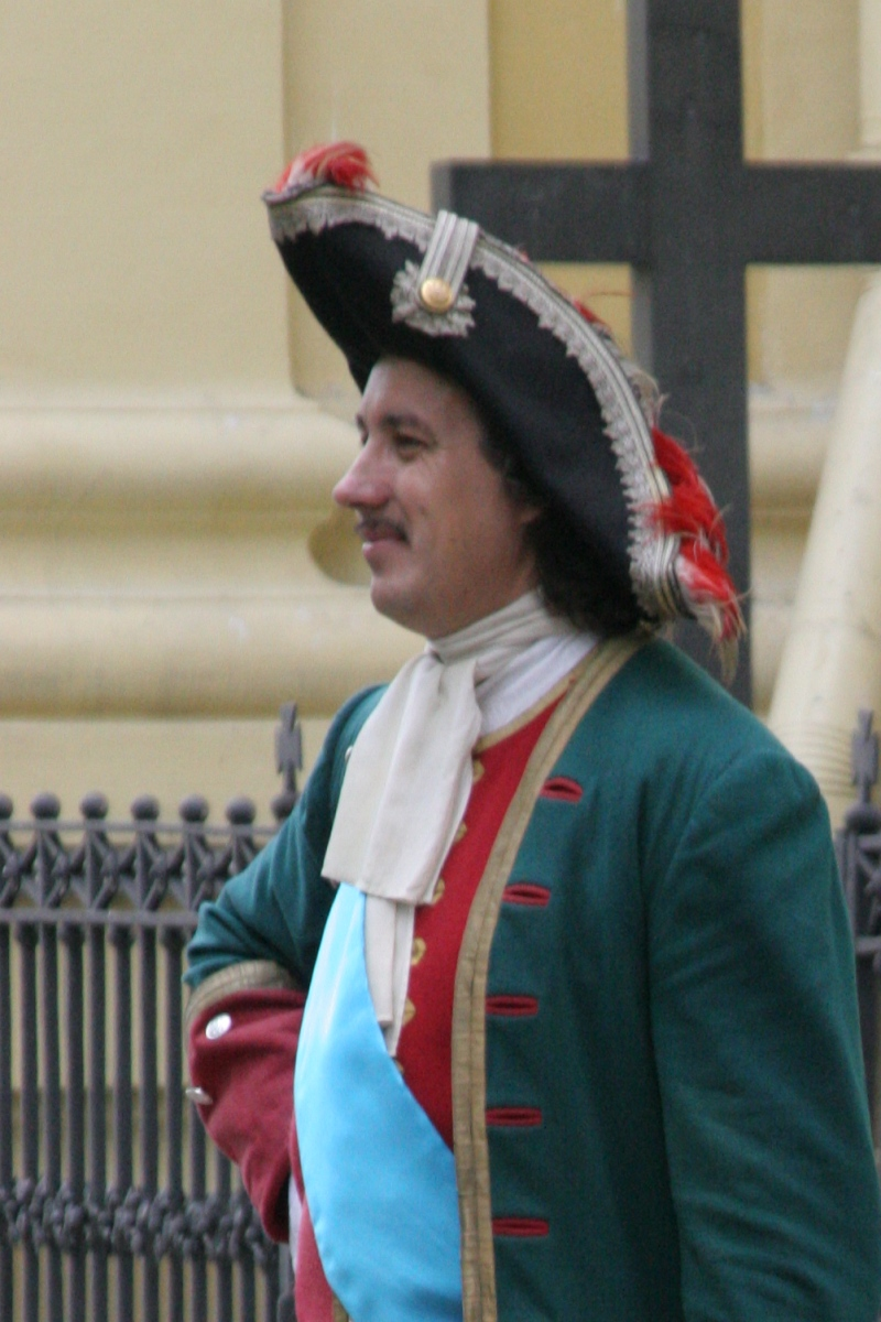 Peter the Great Reenactor.jpg
