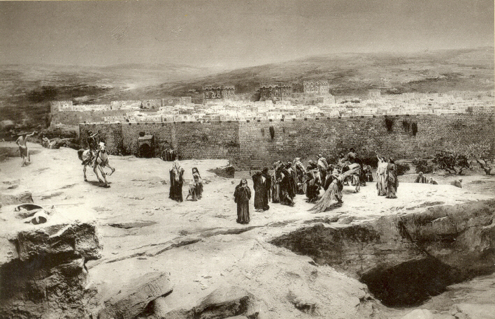 Photograph of Golgotha by an unknown photographer