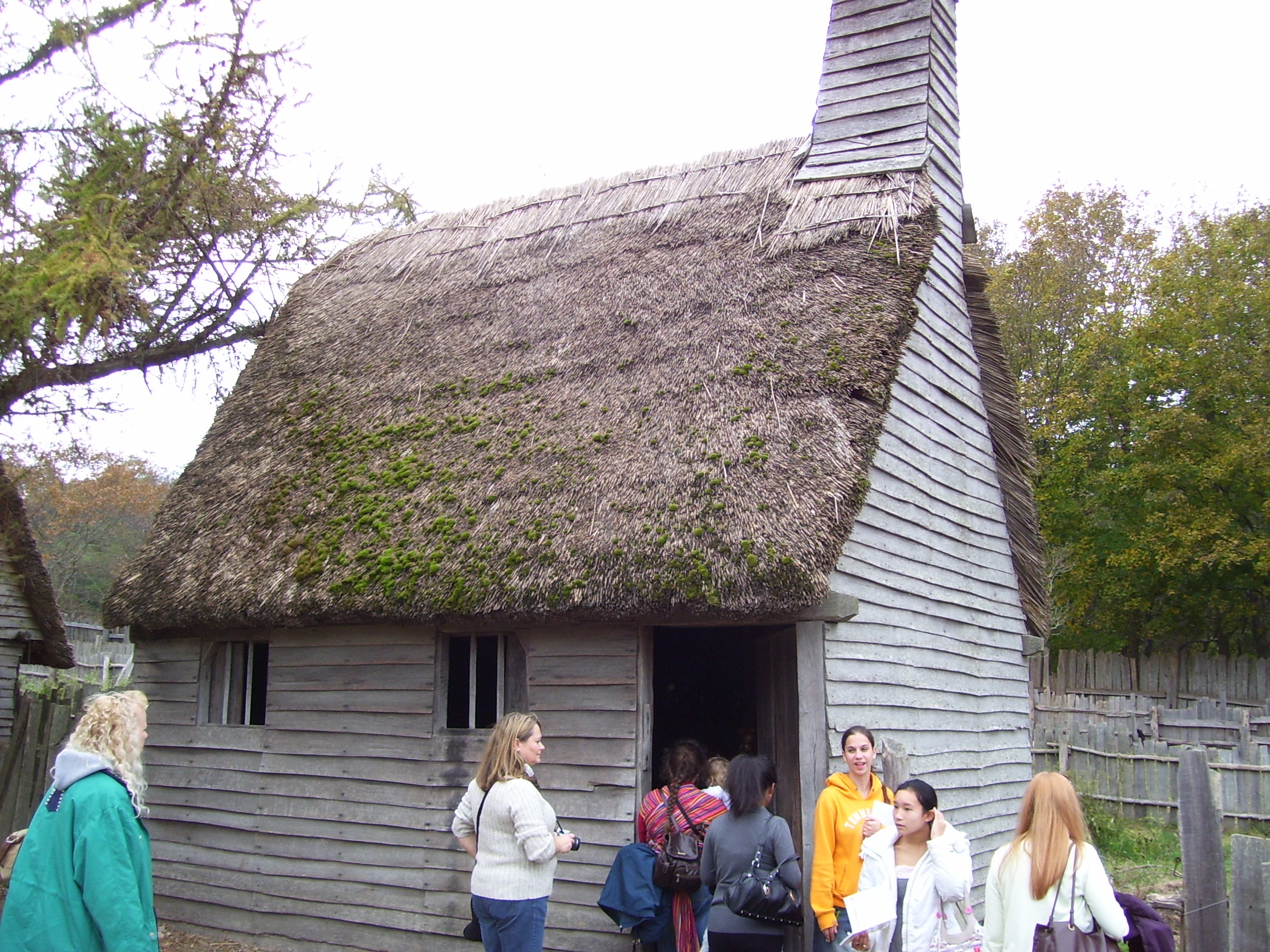 File Plimoth Plantation House Jpg Wikimedia Commons