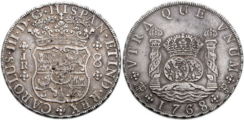 Пиастры испанские 1 доллар 2009 года цена бумажный