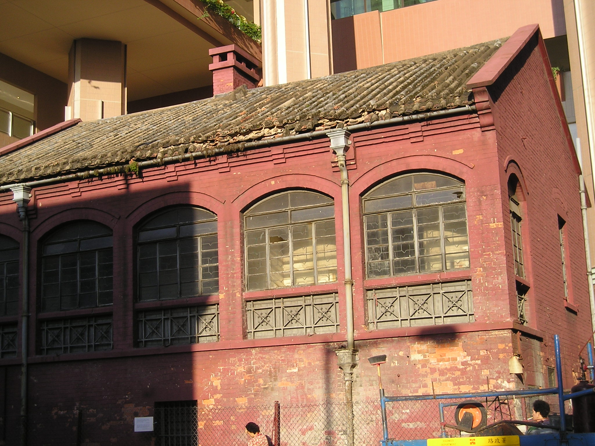 File:Red brick house in HK.jpg