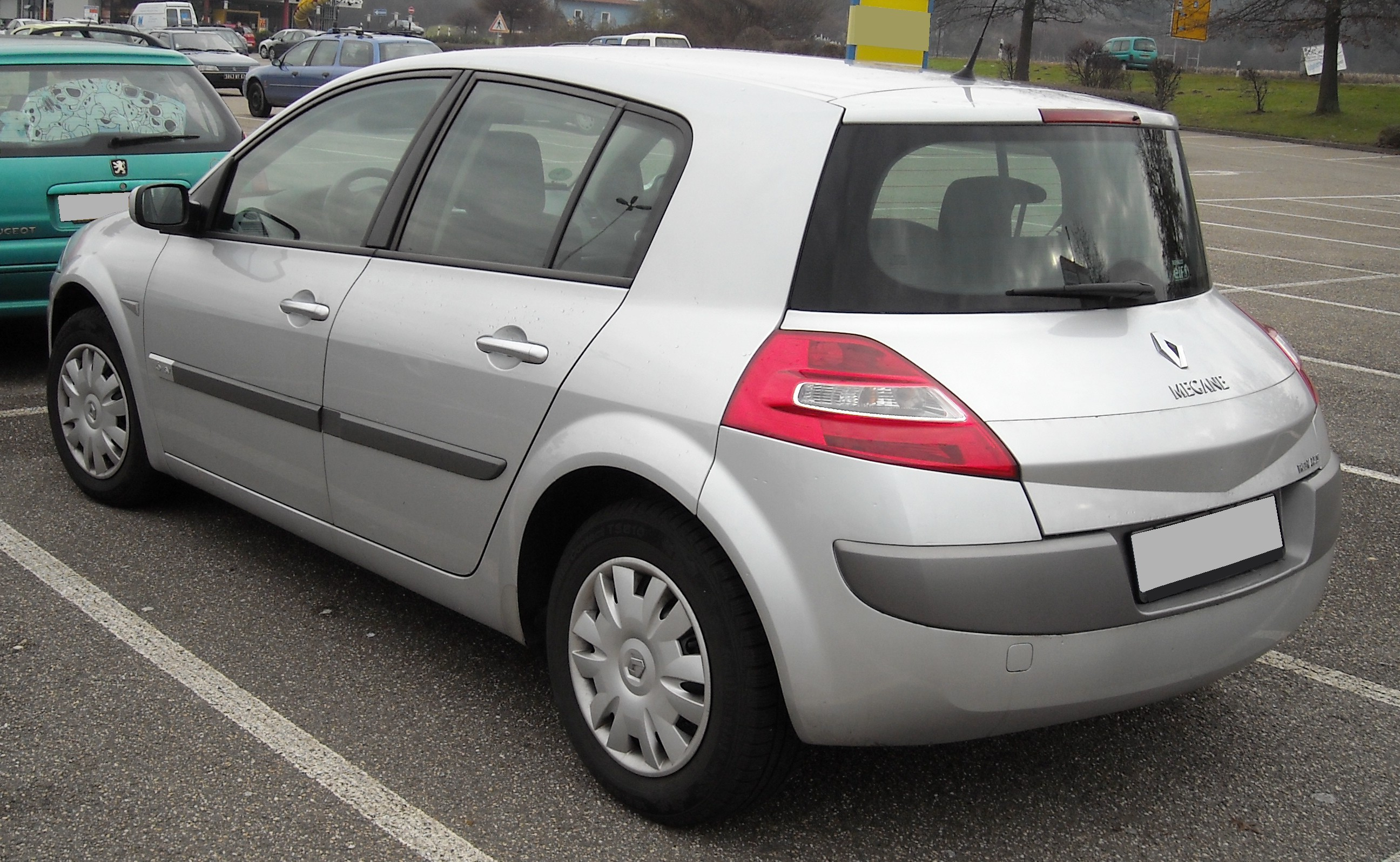 File Renault Megane Rear 20081213 Jpg Wikimedia Commons