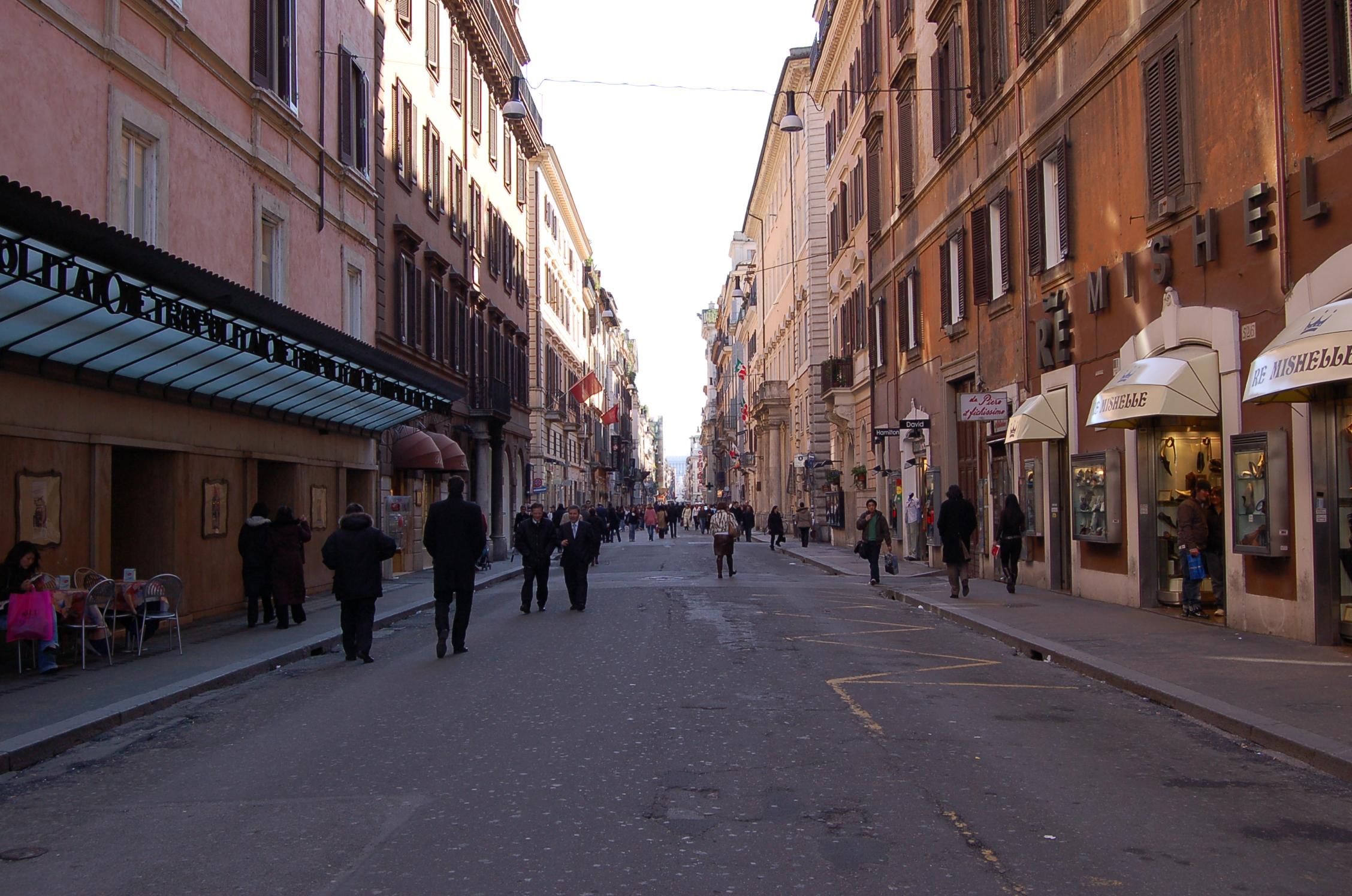 Via del corso wikiwand for Corso arredatore d interni roma