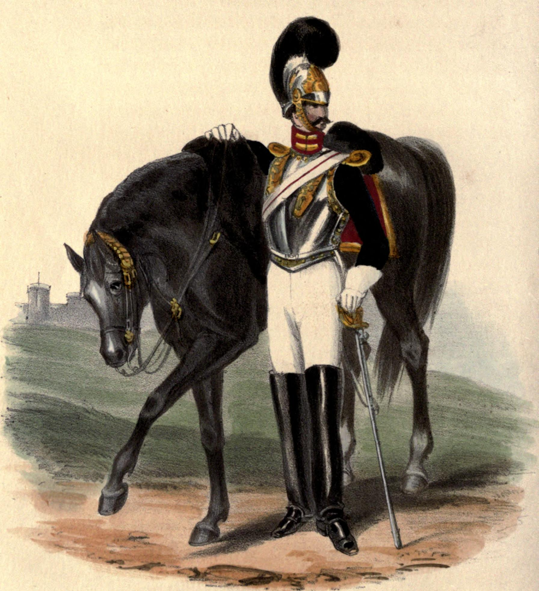 File Royal Horse Guards Uniform 1828 Jpg Wikimedia Commons