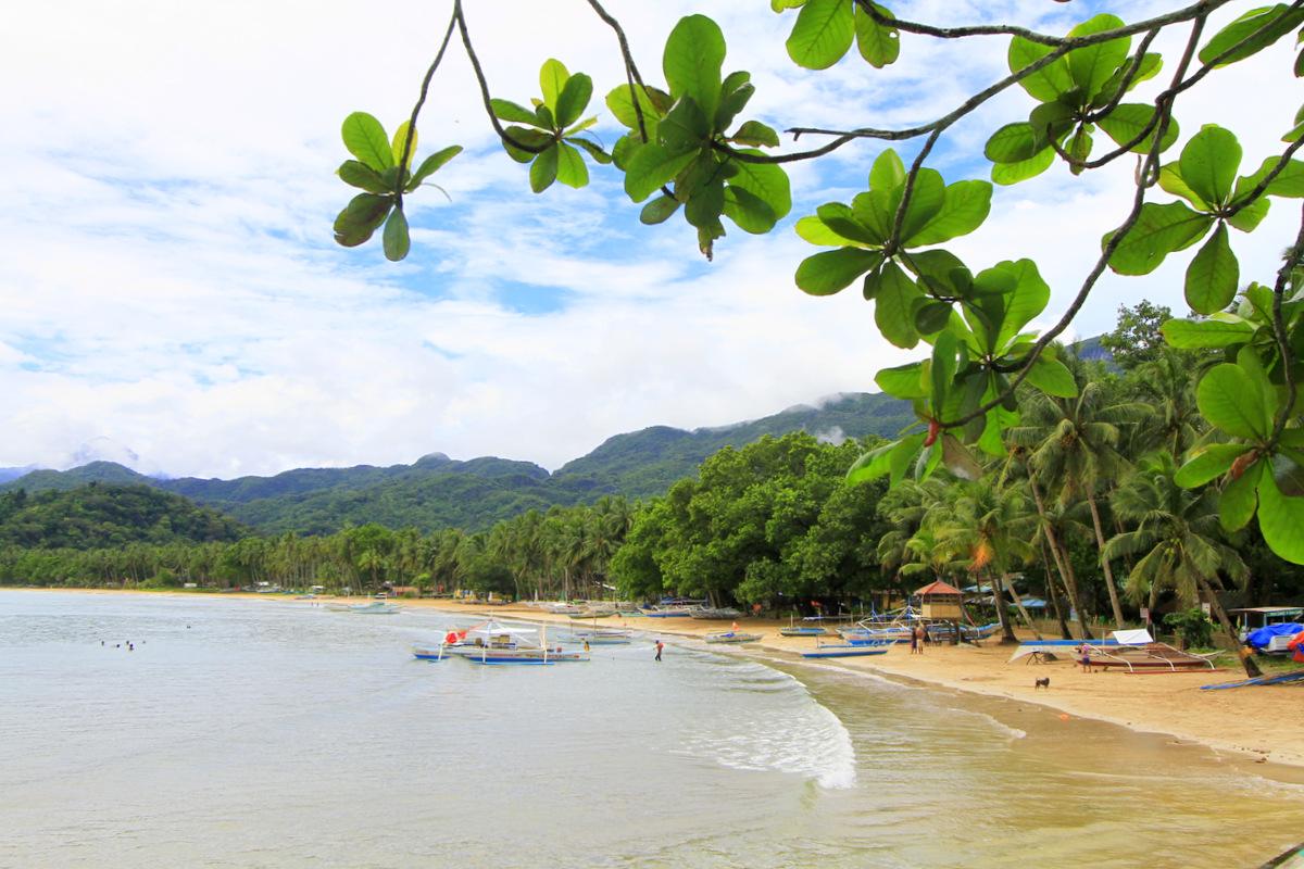 Fichier Sabang Beach In Puerto Princesa