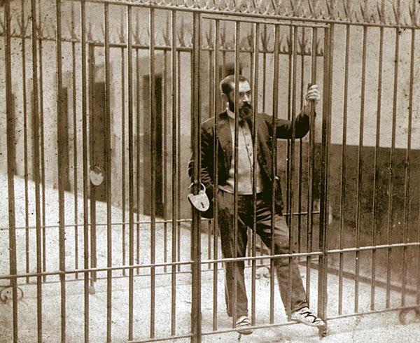 Sabino Arana in Larrinaga prison, 1895
