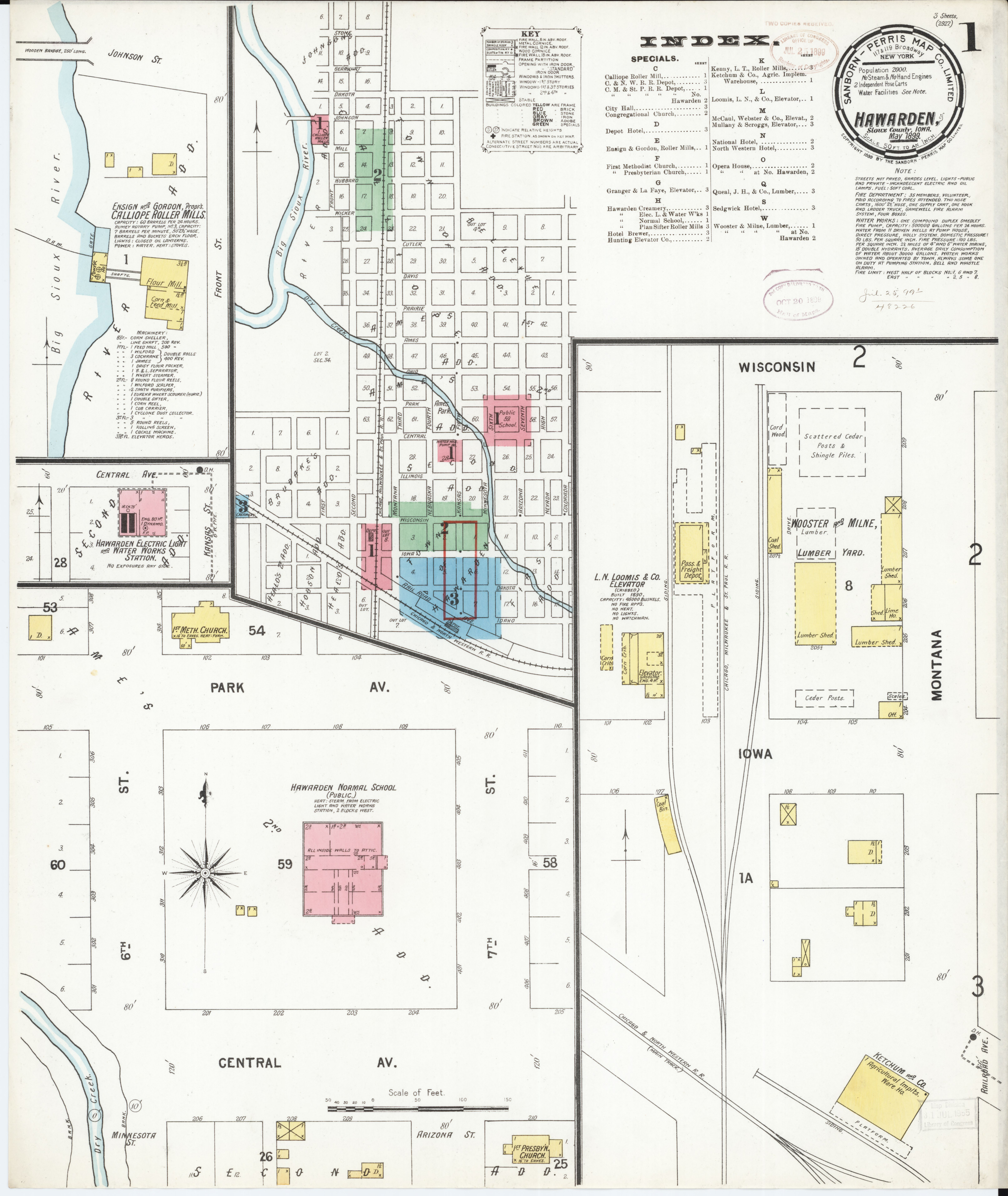 Sioux County Iowa Map.File Sanborn Fire Insurance Map From Hawarden Sioux County Iowa