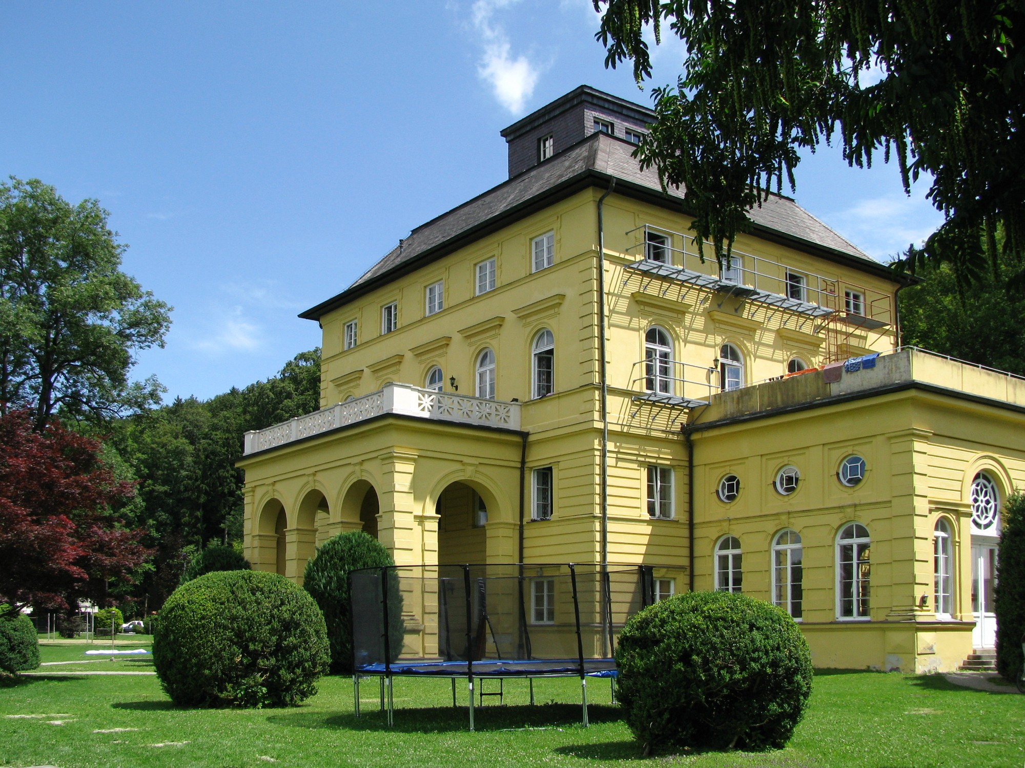File Schloss Allmannshausen 1 Jpg Wikimedia Commons