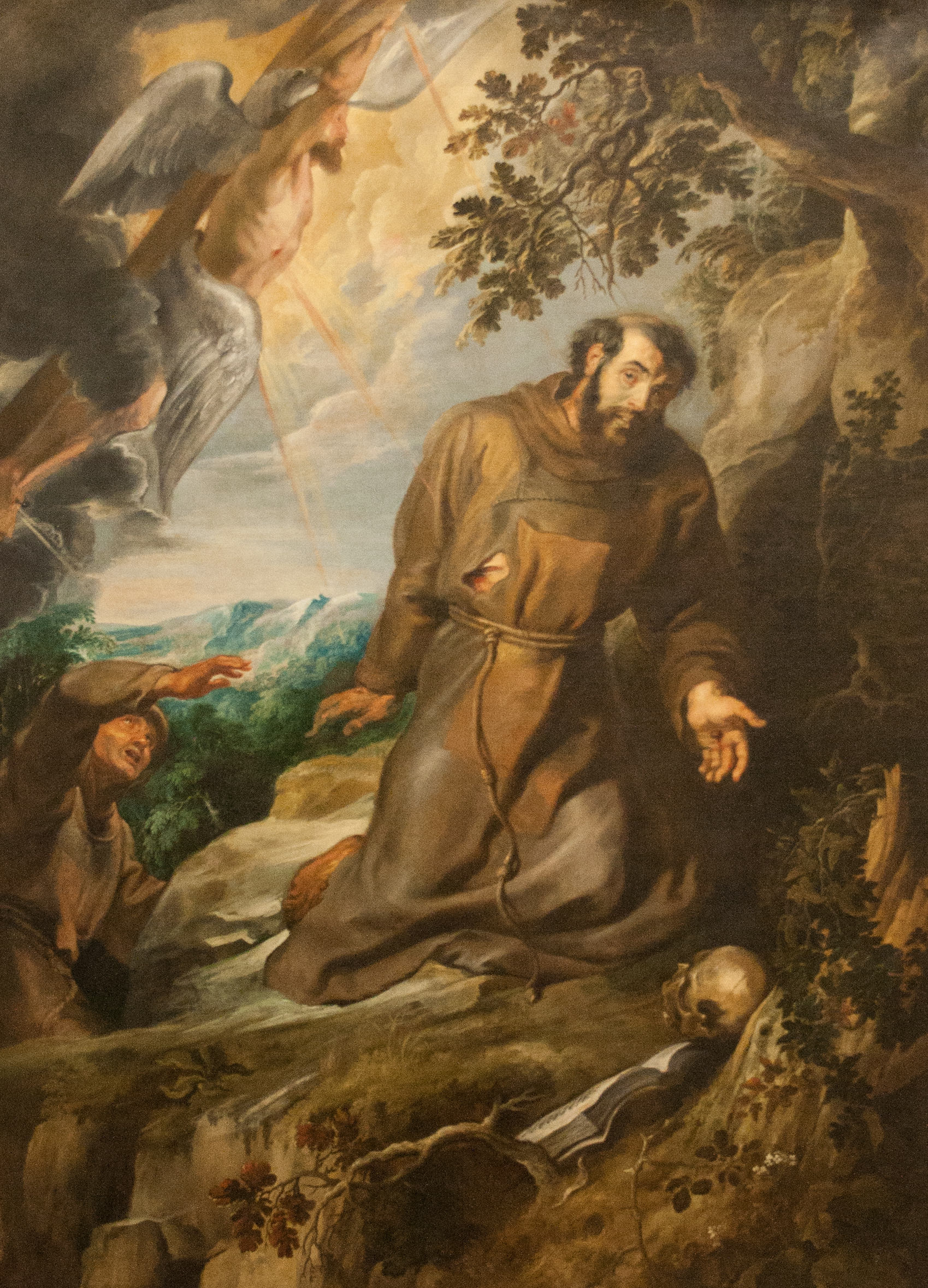 file st francis of assisi receiving the stigmata jpg wikimedia commons