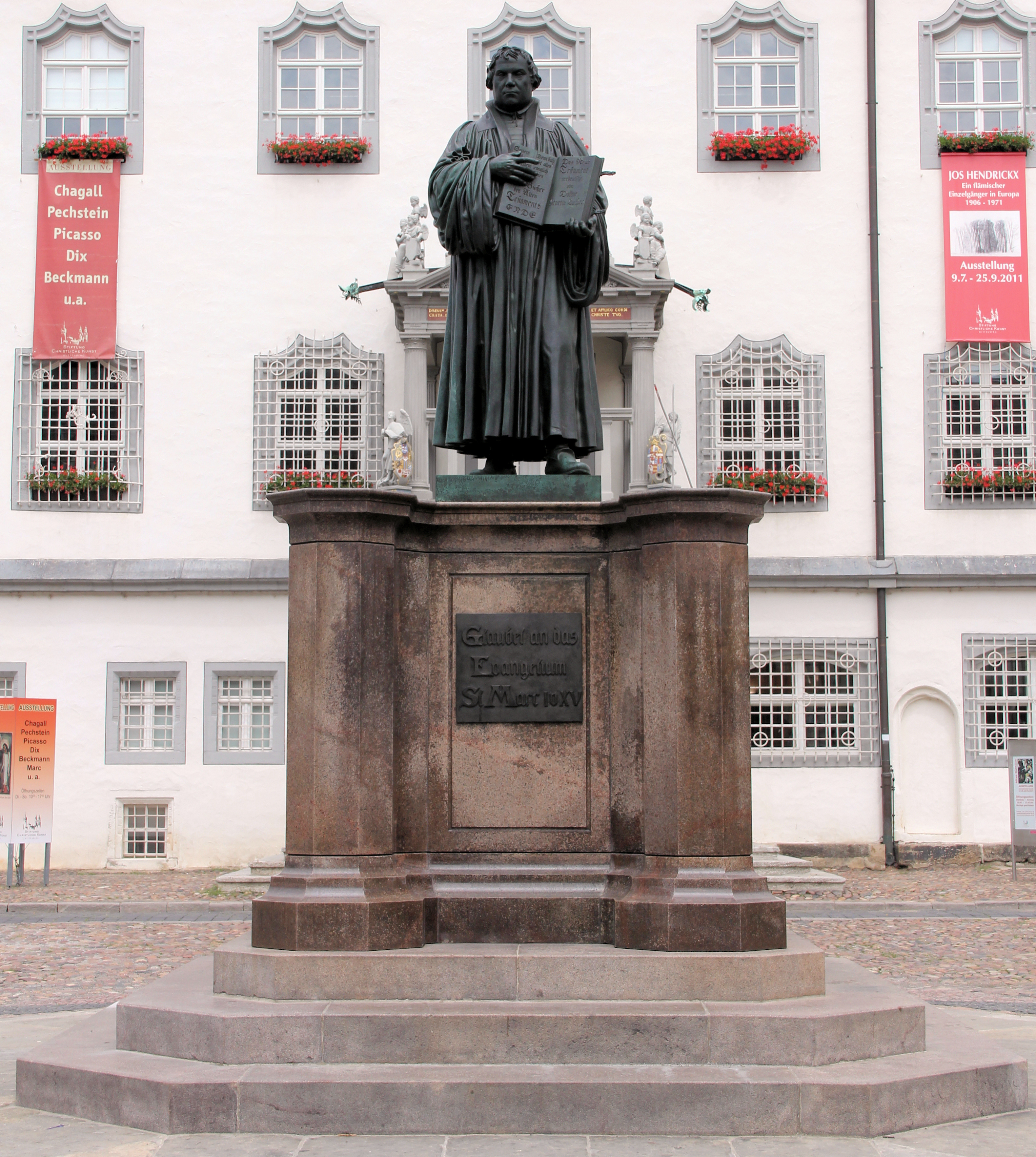 Martin Luther Germany Tour Th Anniversary Of Protestant Reformation Sept