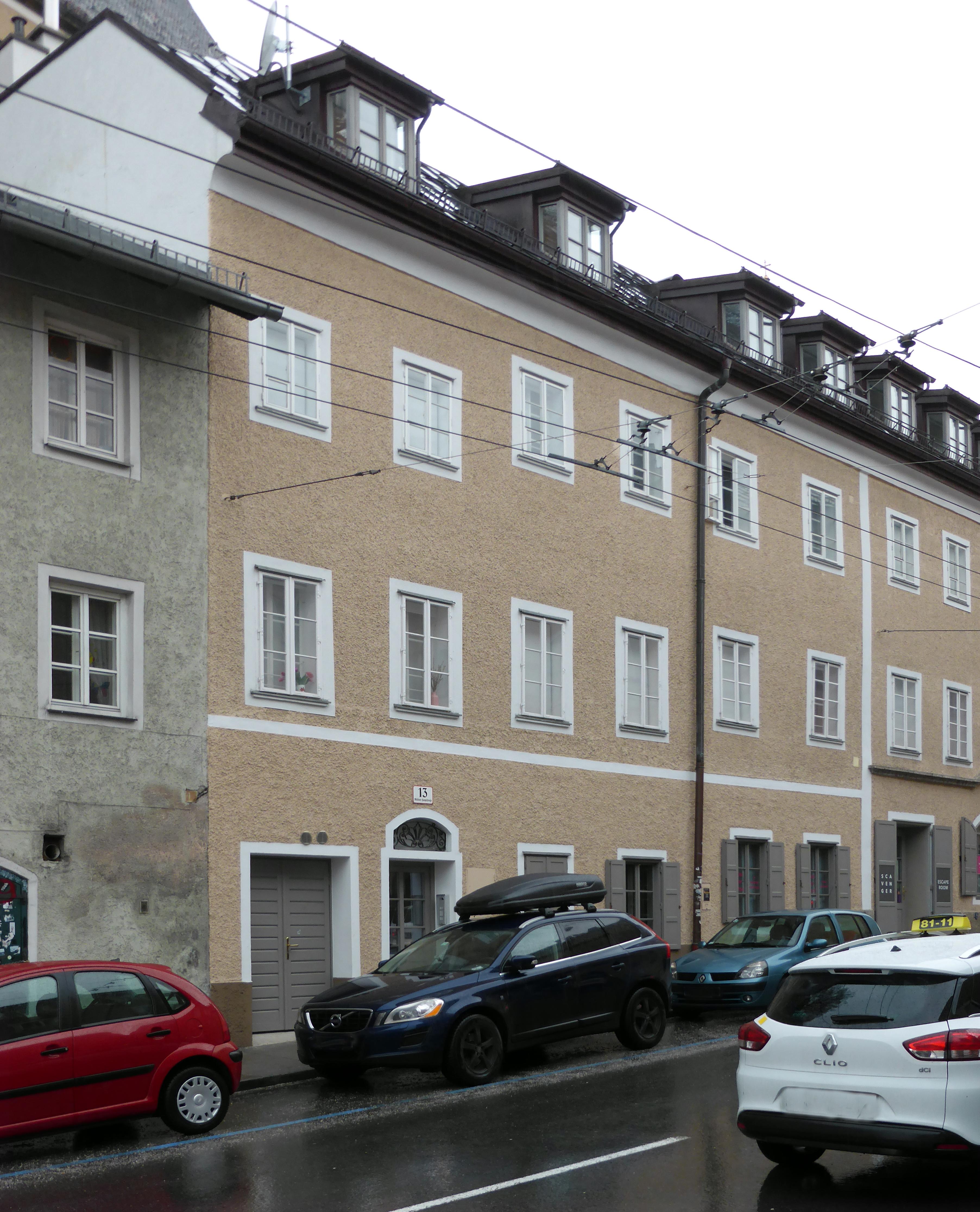 Datei:Stolperstein Salzburg, Wohnhaus Müllner Hauptstraße 13.jpg – Wikipedia